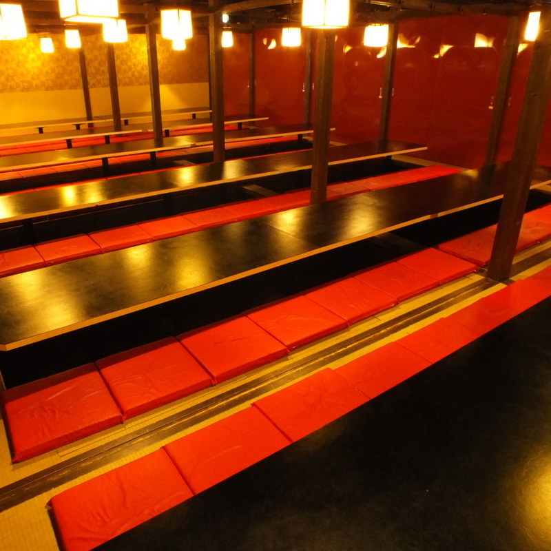 150 persons or more private room 【Maximum 300 people】 ★