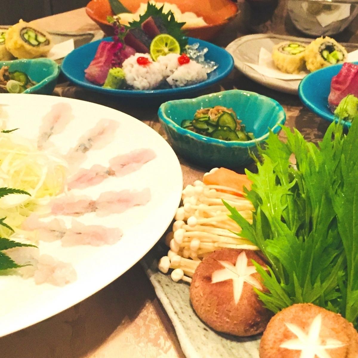 从时令新鲜的海鲜创意菜到A5排名的黑毛和牛牛肉