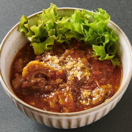 牛スジトマト煮(又はワイン煮)
