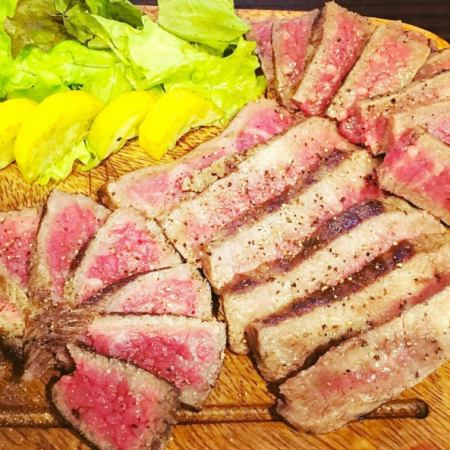 Aged meat experience course 3000 yen ◆ Eat comparison of 3 kinds of Wagyu beef ★ ♪ All 5 items