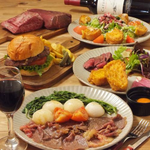 【神楽坂Dinner★】熟成肉コース