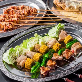 1500 yen BBQ course