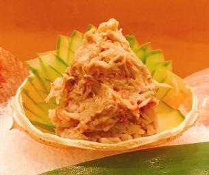 【一品】ズワイガニの蟹味噌和え