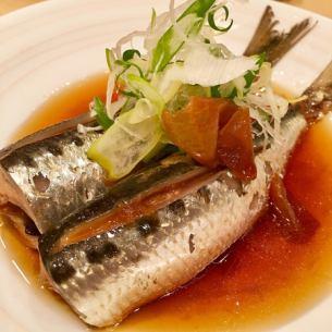 【煮魚】イワシの梅煮