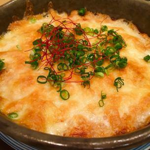 【一品】長芋の明太チーズ焼き