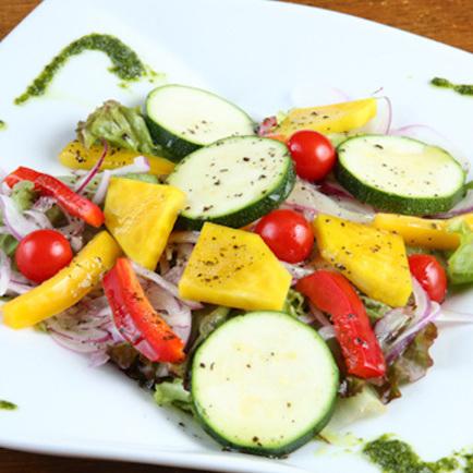 Vegetable carpaccio ~ balsamico sauce multiplication ~