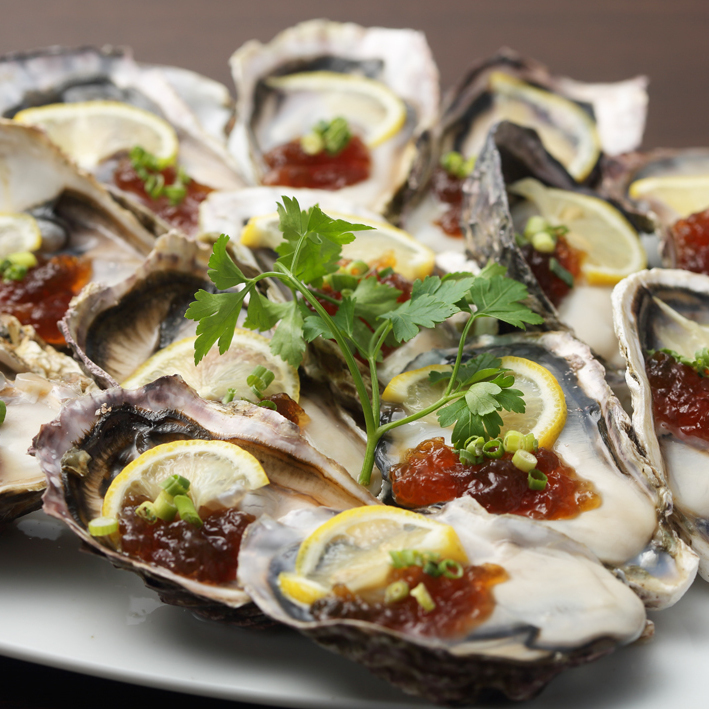 Sterile oysters ~ raw · baked · steamed ~