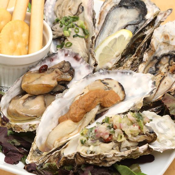 三種無菌牡蠣