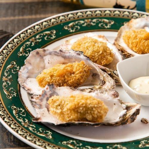 広島県産大粒牡蠣フライ 2個