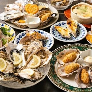 【2h飲み放題付き】名物牡蠣&ステーキも♪ファクトリーコース4950円(税込)<9品>