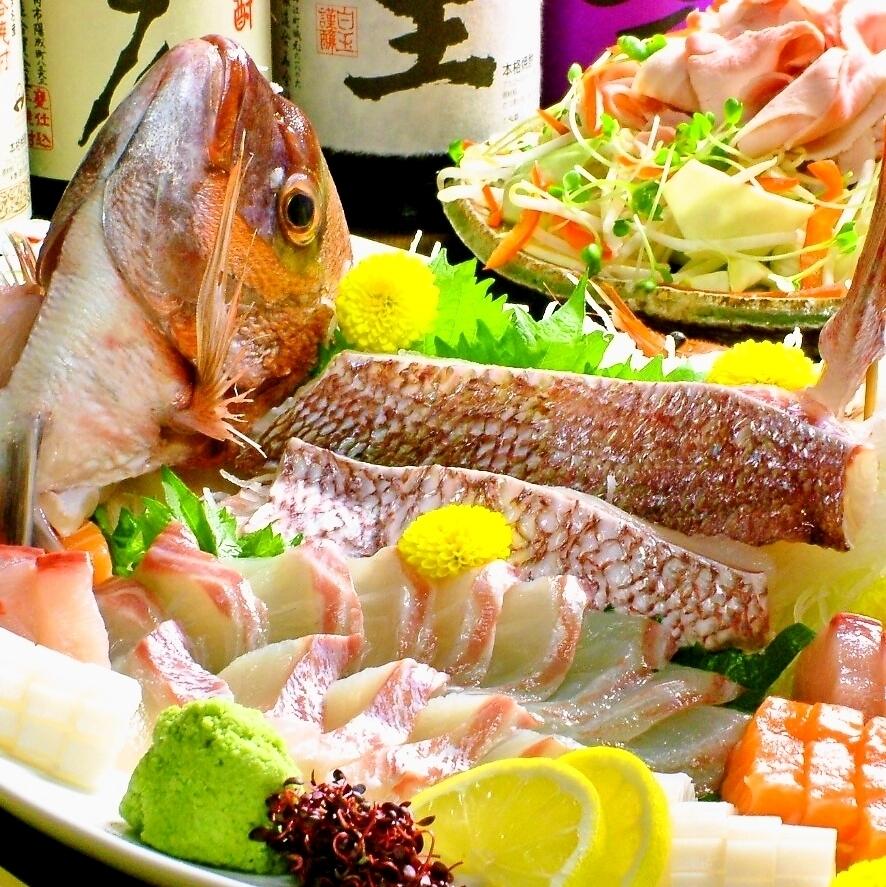 岡山の地魚や鮮魚を愉しむ
