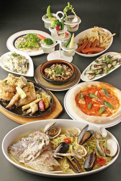 [告別Mukaekai進來!]〜當然〜各種美味的菜餚和種類繁多的飲品