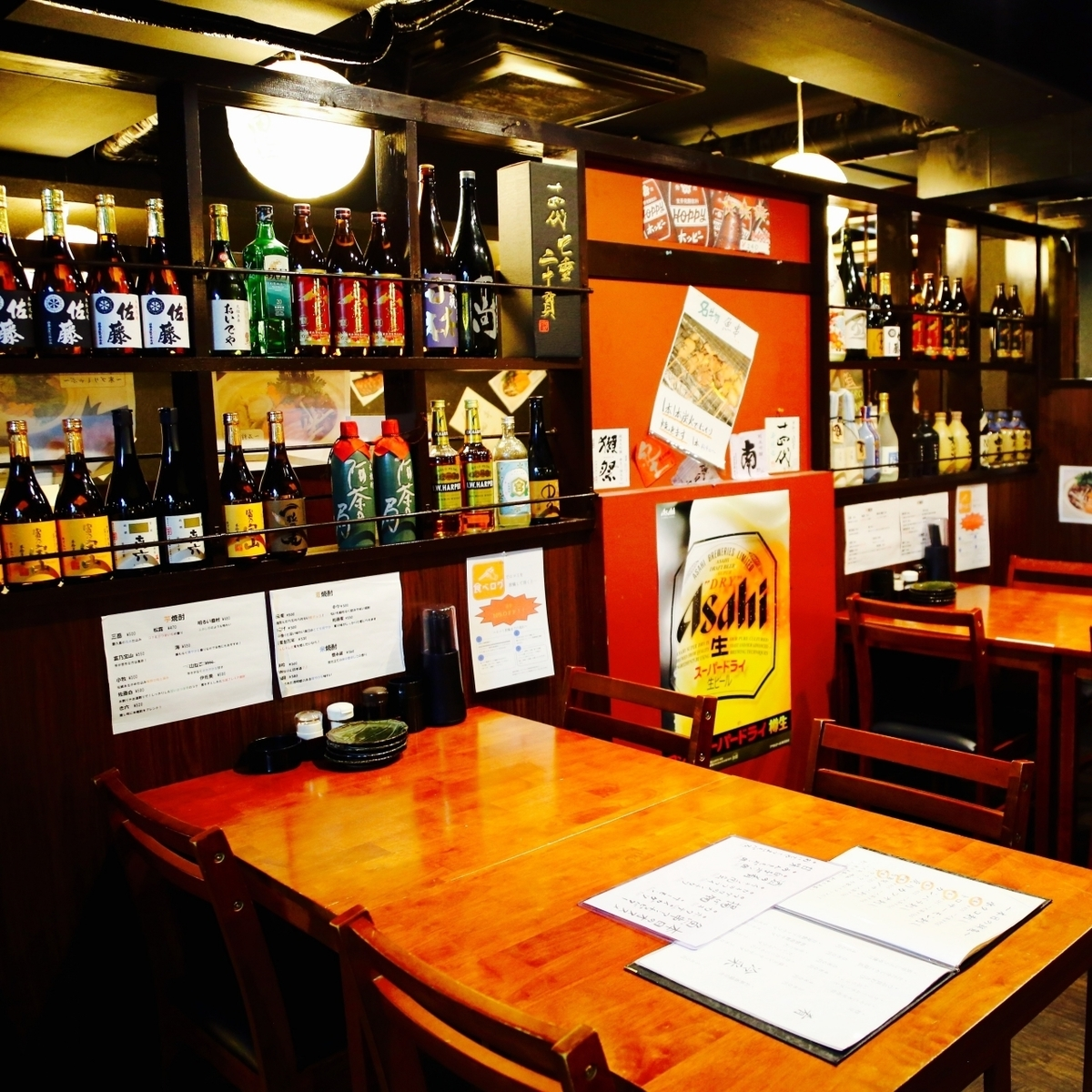 Table seats up to 14 people OK ♪ Reasonable drinks with unlimited courses are offered abundantly from 3000 yen ♪ ♪ Kawagoe k welcome farewell party and gangbangs and various banquets are also very popular It is a seat!