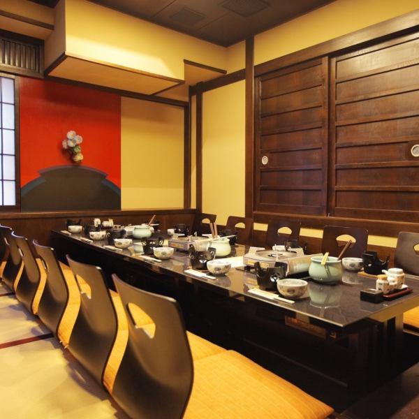 完全單人房可容納10人左右。我們準備與使用場景相匹配的房間,如Oshiki / Digging Tatsutsu等。