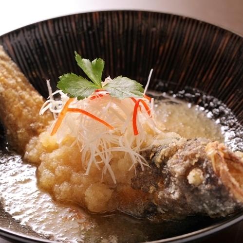 Deep-fried groundfish dumplings