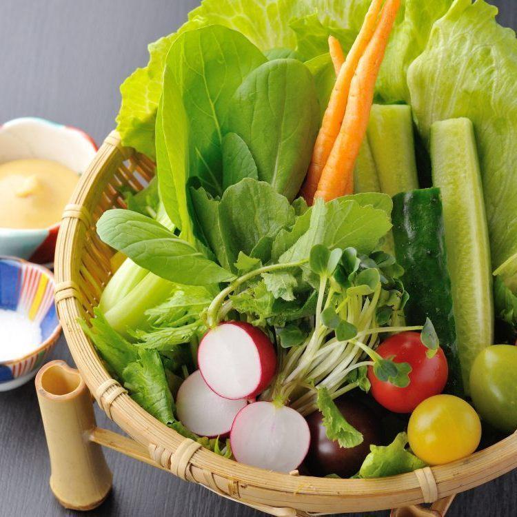 宮城農村沙拉(有機蔬菜)