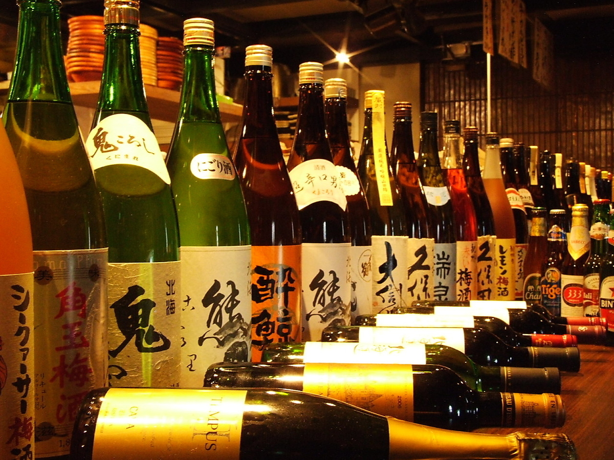 I also agree with Japanese sake too! Local sake in Hokkaido is also available!