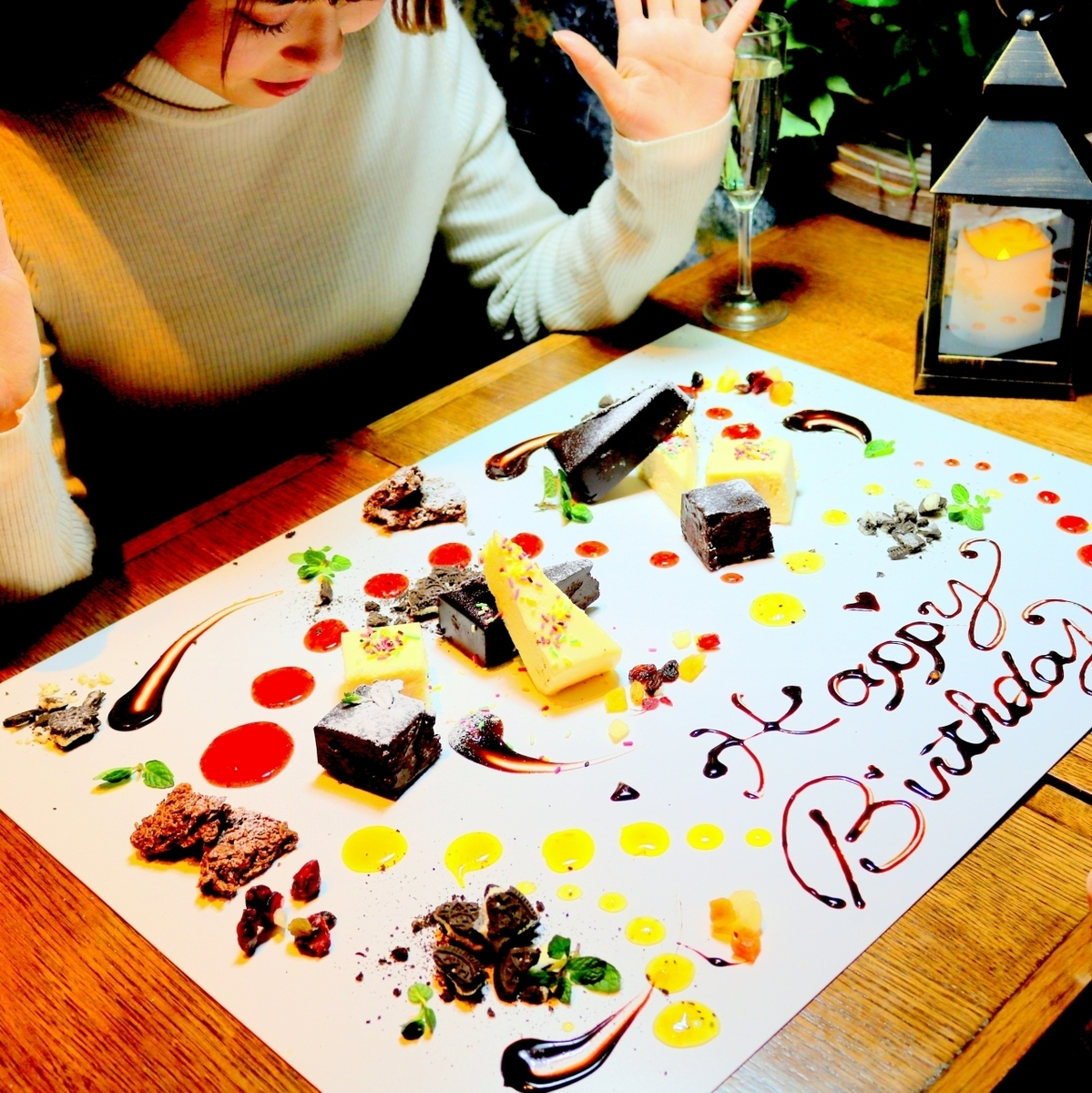 ◆ Topical table art ♪