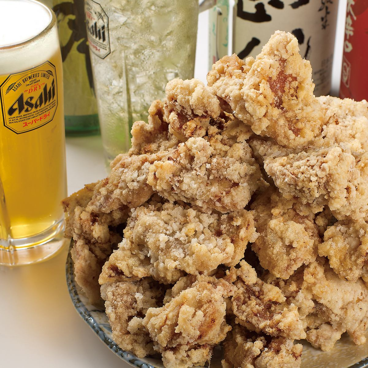 Compatibility preeminent ♪ of the exquisite fried chicken! Beer to make the shopkeeper was eaten fried nationwide