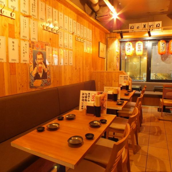 Lantern atmosphere in the store, such as the Alley aims to atmosphere relaxing slowly salaryman your way home from work.Smash and food we have a lot of offer a delicious cuisine at a low price as possible.Since I have heard various charter, please do not hesitate to contact us.