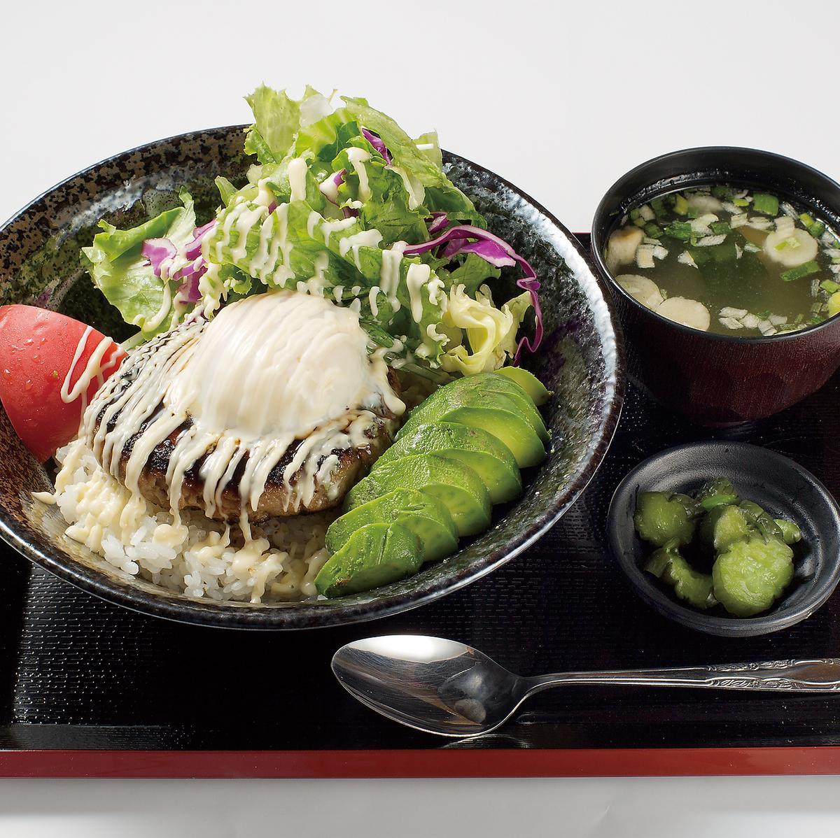 優質牛肉Tsukune Bokomoko飯碗