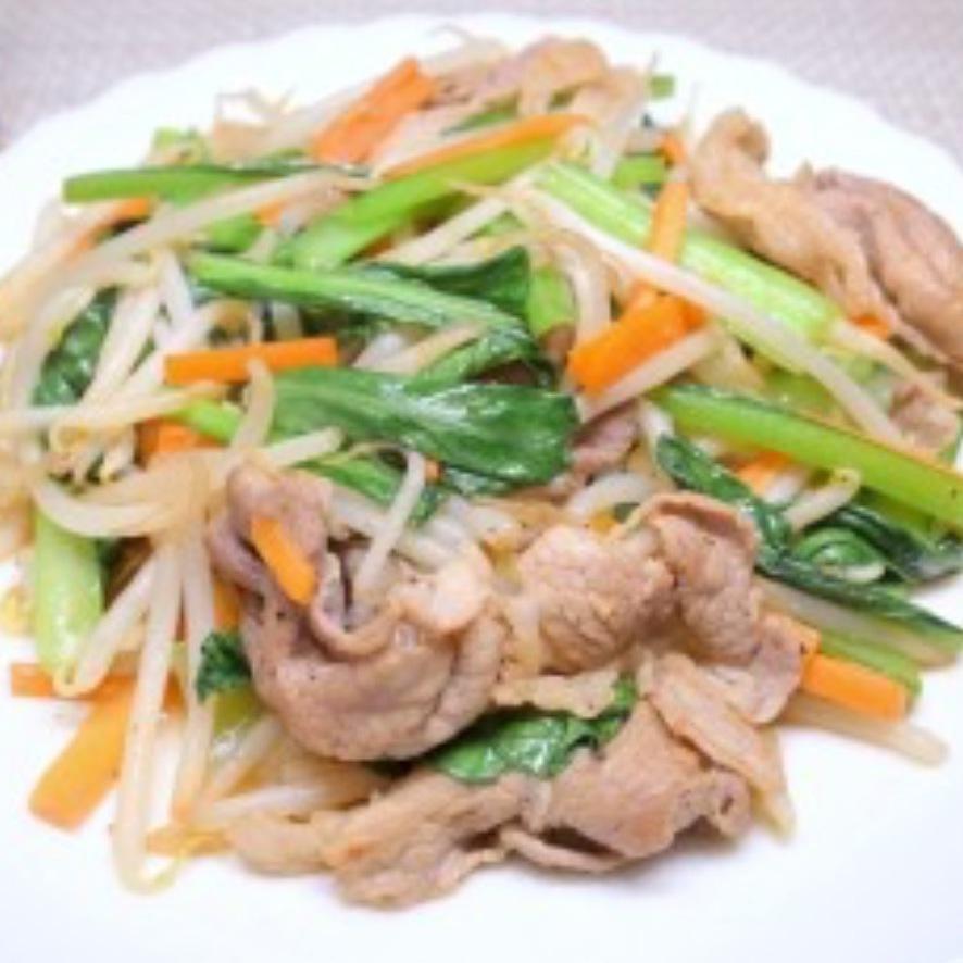炒肉炒蔬菜