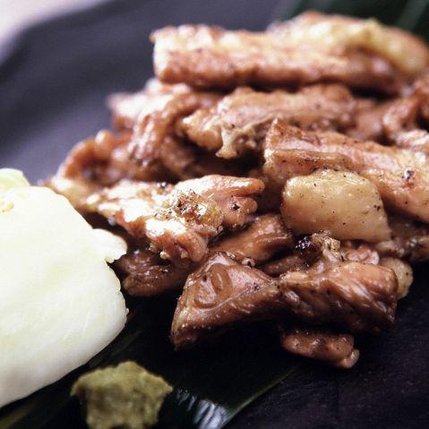 煮熟的米飯烤