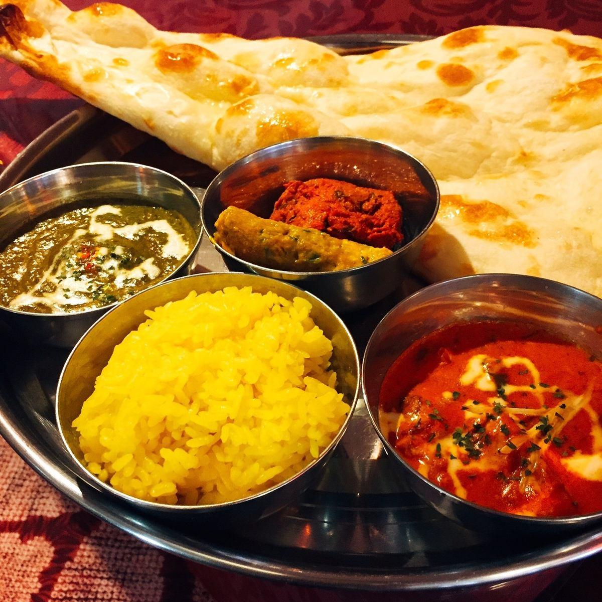 本場インドで10年以上のキャリアを持つシェフによるネパール・インド料理店!