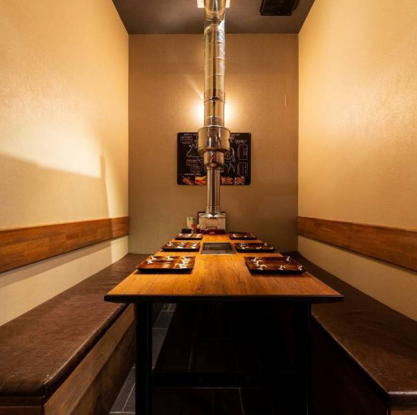 【All seats complete private room】 Completely private room that can accommodate up to 10 people.You can use it for small groups of various banquets ♪