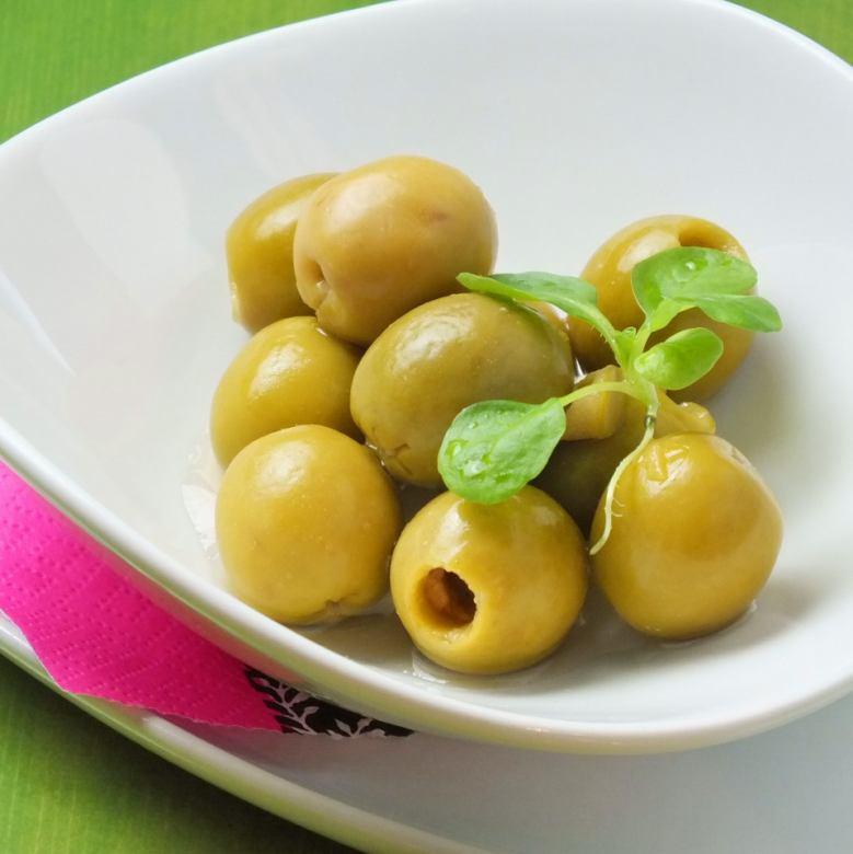 醬菜/鳳尾魚橄欖/土豆鳳尾魚