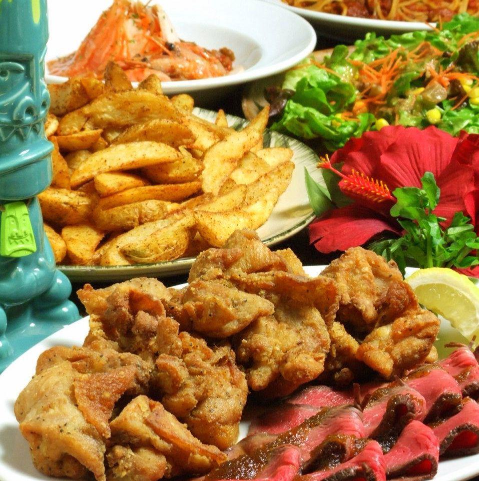 Roast Beef,, Mushrooms etc. 2H Liberation & Drinking course is 3000 yen ~!