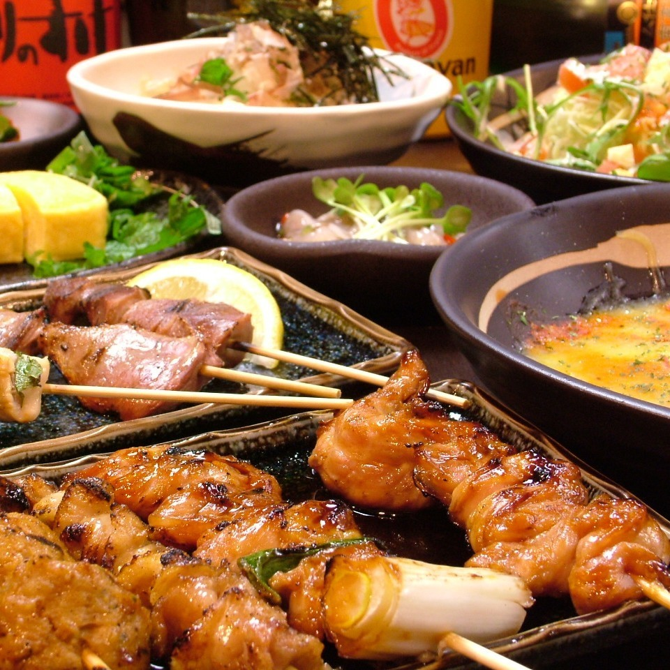 All you can eat and drink is 3500 yen !!