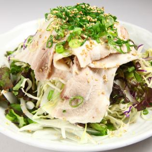 Caesar salad / mizuna salad / steamed chicken avocado salad / pig shabu salad / skin Parisarada