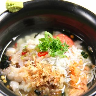 茶泡饭......鱼子饭用绿茶//梅饭绿茶/ enokidake蘑菇饭绿茶/是绿茶大米的硬度