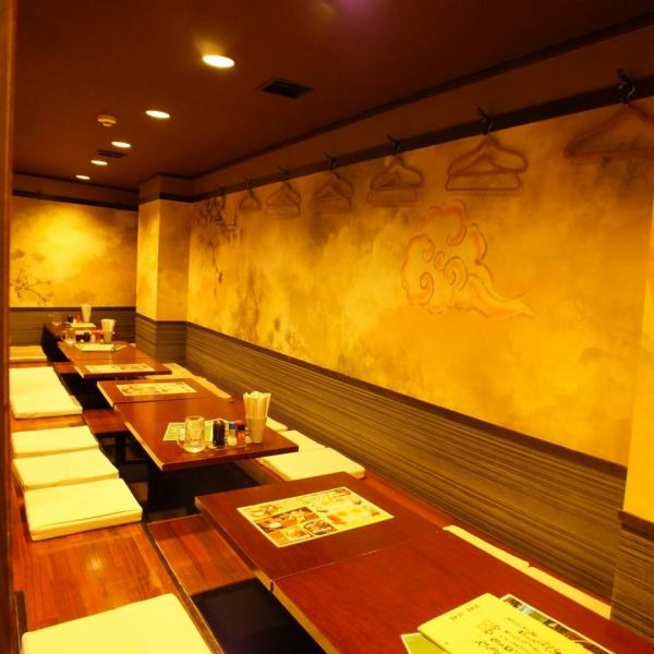 A calm atmosphere can be enjoyed in various scenes ★ Up to 50 people OK! Private place for private use up to 90 people ♪