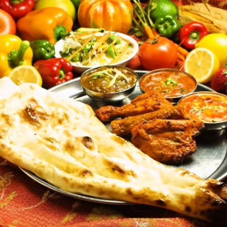 Dinner Special tally set (non-vegetarian) / Dinner Special tally set (vegetarian)