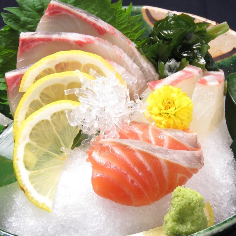 【생선회】 특선 생선회 세 한창