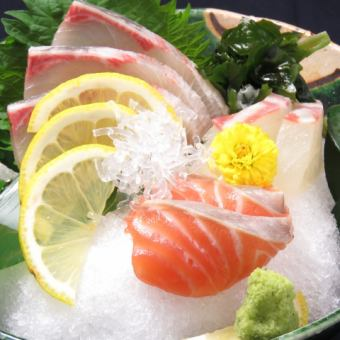 【Buying】 Three special sashimi of sashimi