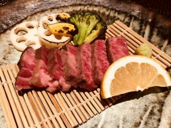 【A5 Saga Kuroge Wagyu beef] under saddle steak