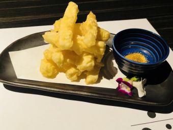 【新作】クリームチーズ天麩羅