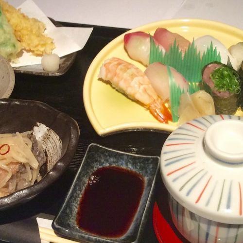 人気の限定食!寿司御膳
