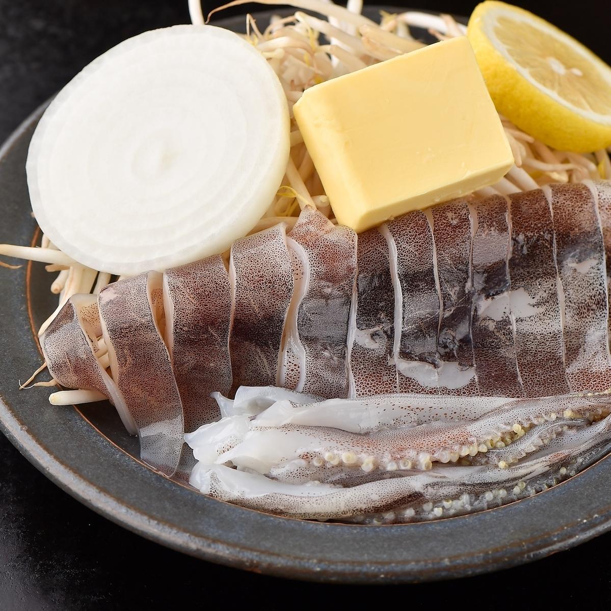 Squid barbecue