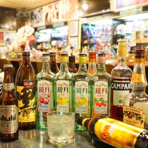 メインはカラオケ、お酒はオマケ程度のものしかないですよ~