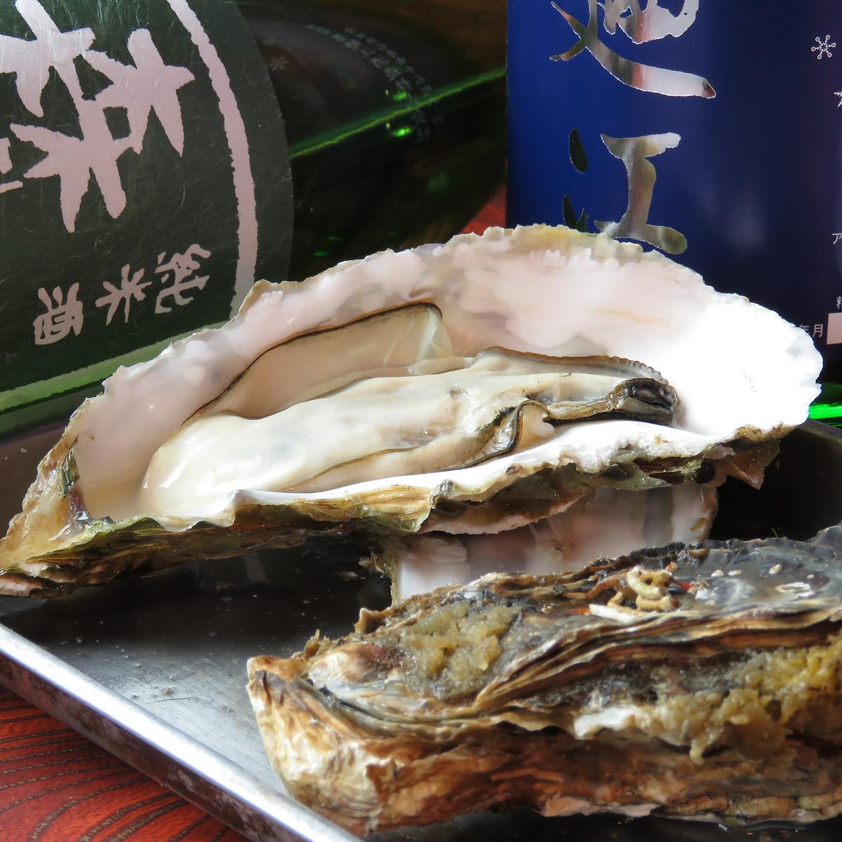 牡蠣の蒸し焼き(1個)