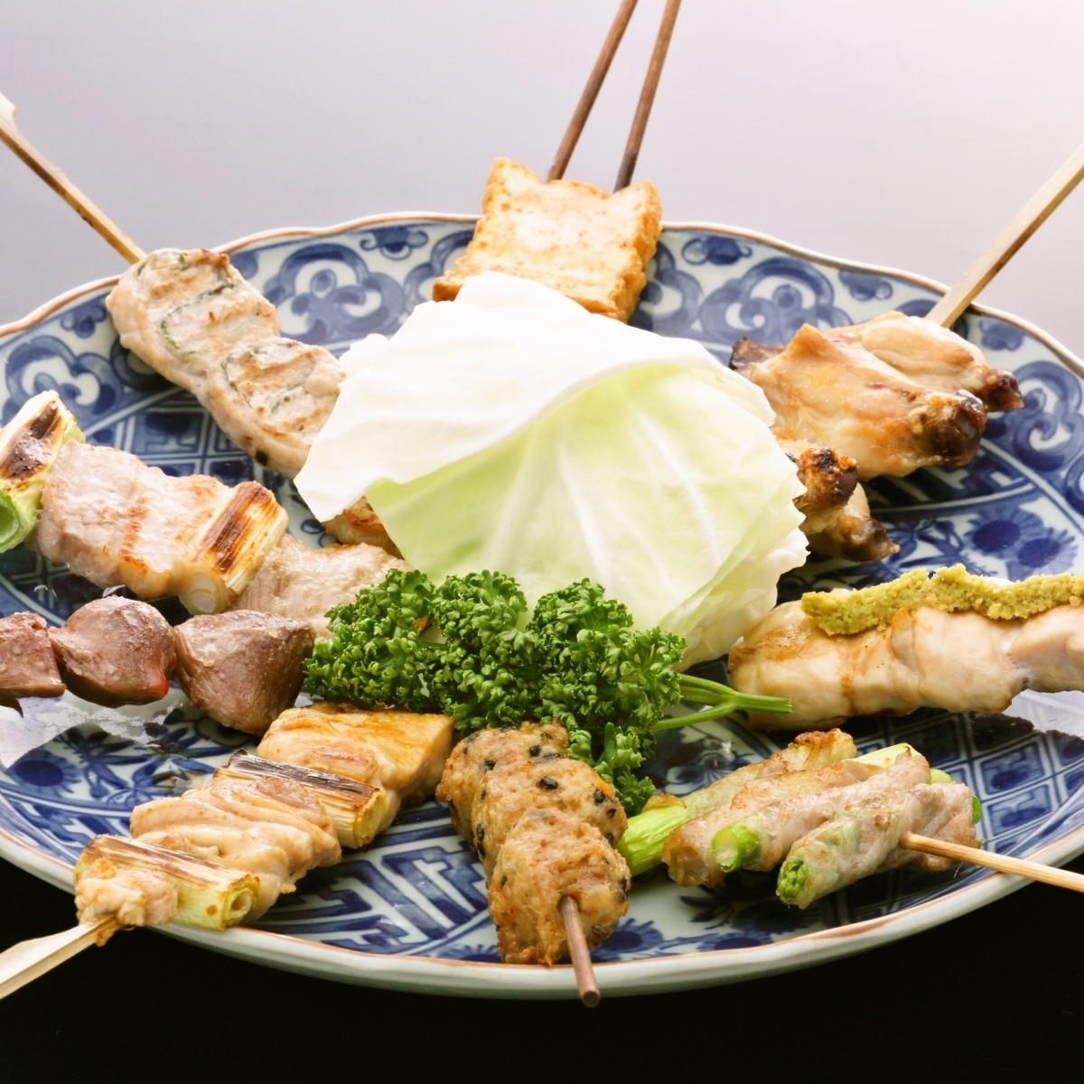 烤鸡串什锦(L)9种类型假期