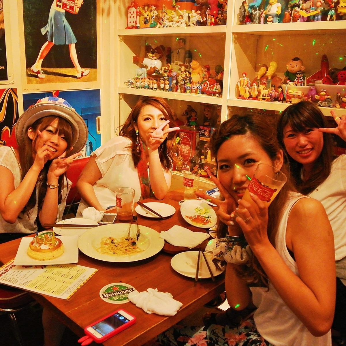 Waiwai girls' party is perfect ♪