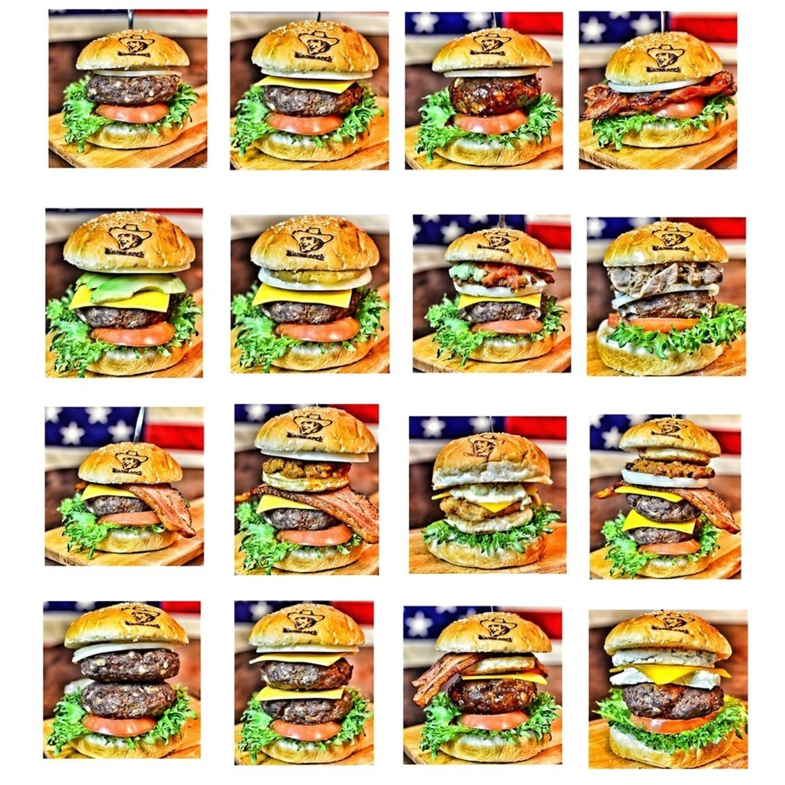 New appearance Burger series ★