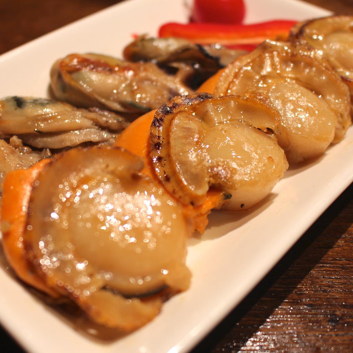 海鮮バターソテーMIX(牡蠣&ホタテ)