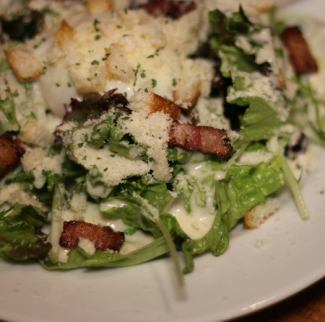 【New】 Warm ball Caesar salad