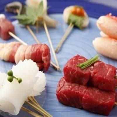 旬の厳選食材エコ&ヘルシー串揚げ